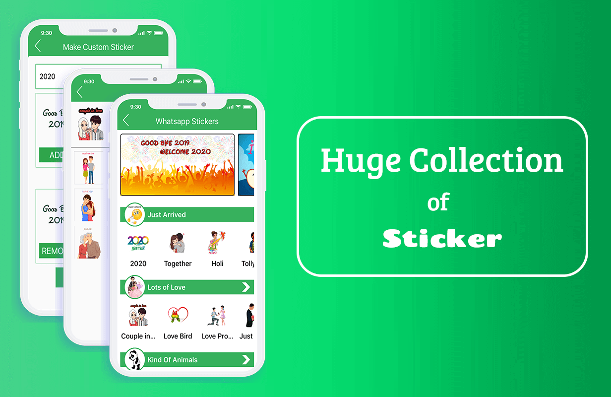 Sticker For Whatsapp - Whatsapp Sticker app for iOS (Admin Panel + iOS app + Web API + Database) Download